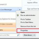 Snippet: haga que Windows Live Messenger minimice la barra de estado