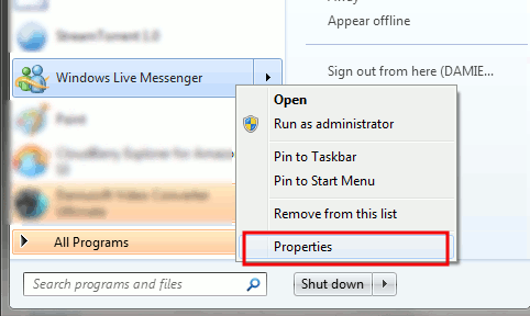 Fragmento: Hacer que Windows Live Messenger se minimice a la barra de estado