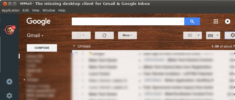 Acceda a su Gmail y a la bandeja de entrada de Google en Linux utilizando Wmail