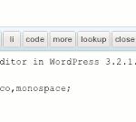 Cómo cambiar la fuente del editor HTML de WordPress 3.2 [Consejos rápidos]