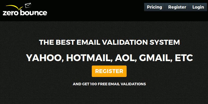 Mejore su esfuerzo de marketing por correo electrónico con el sistema de validación de correo electrónico de ZeroBounce