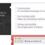 ZeroNet: Un servicio web p2p basado en la tecnología Bitcoin y Torrent