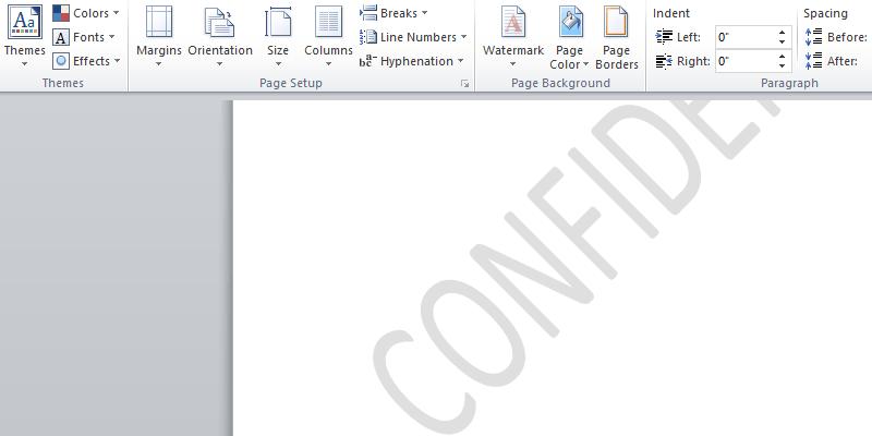 Cómo añadir una marca de agua a sus documentos de Word
