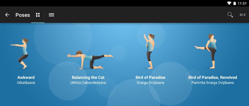 6 aplicaciones para Android que pueden ayudarle a practicar yoga en casa