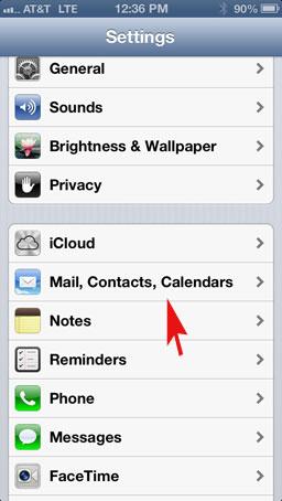 La nueva forma de integrar contactos de Google en su iPhone