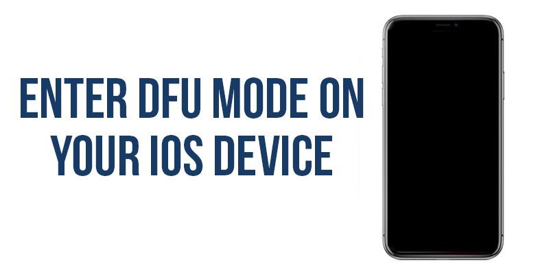 Cómo poner su iPhone / iPad en modo DFU para recuperación