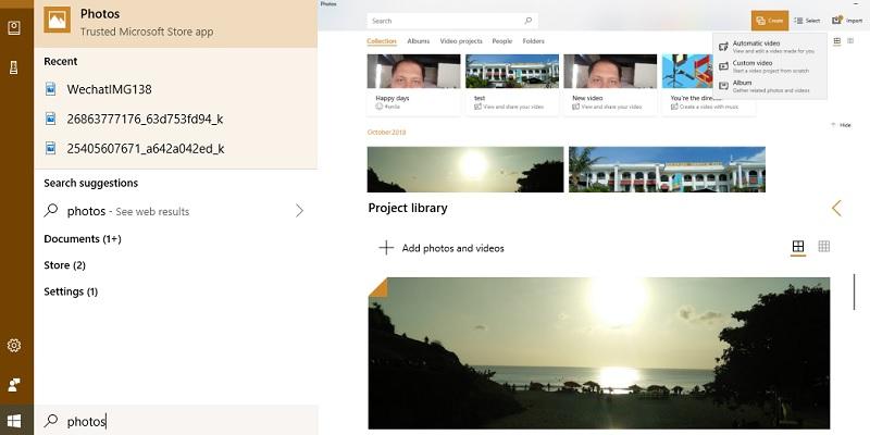Cómo editar sus videos con la aplicación Microsoft Photos
