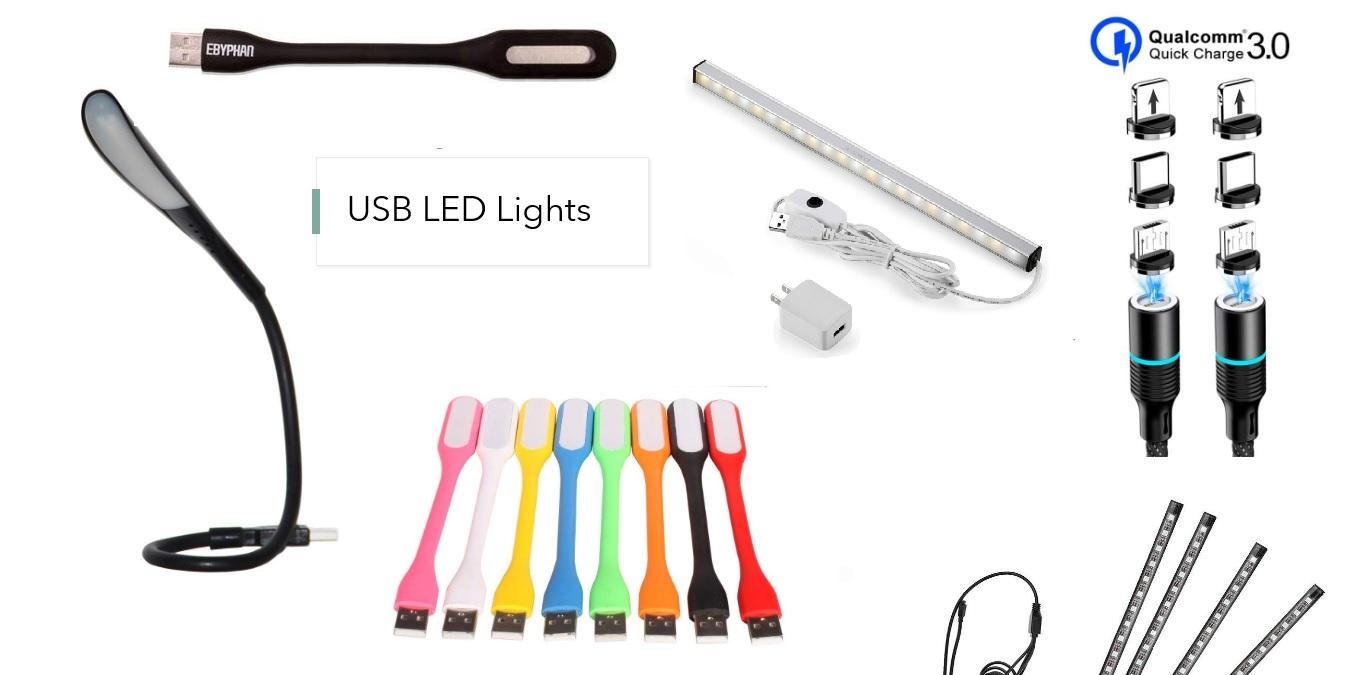 ¿Qué son las luces LED USB y cuáles son sus usos?