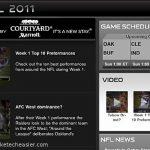 Ponerse al día con los juegos de fútbol de la NFL a través de iPad
