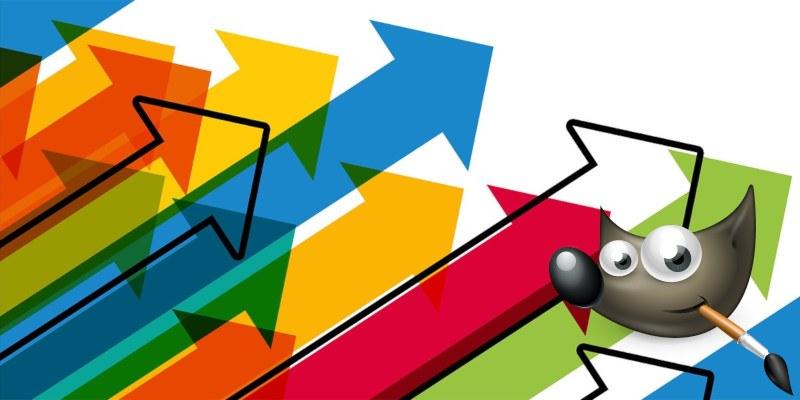 Cómo dibujar flechas en GIMP