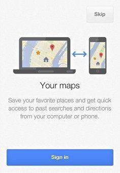 Lo que es diferente con la nueva aplicación Google Maps para iOS