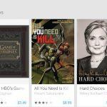 Alternativas a Google Play para libros, películas y música para Android