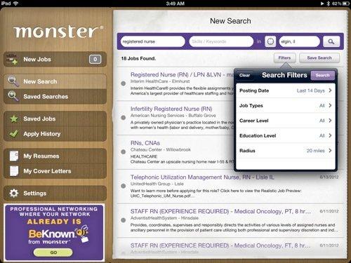 4 Más aplicaciones de iOS para ayudar con la búsqueda de empleo
