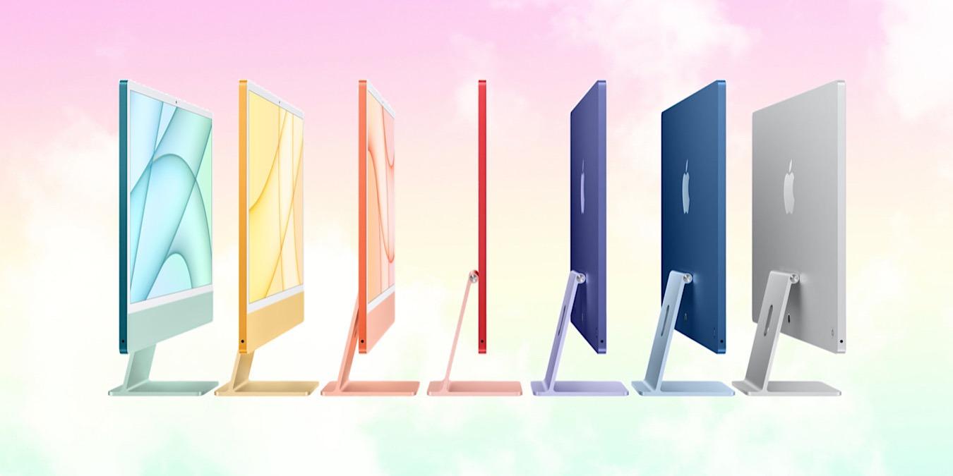 Apple anuncia nuevos iMacs y iPad Pros con M1