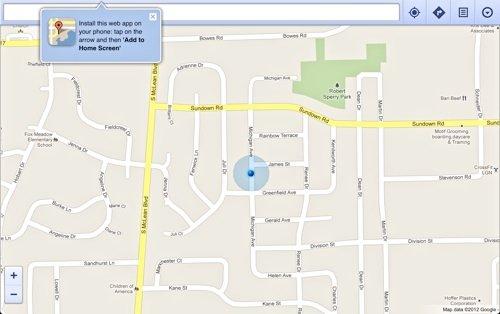 Solución fácil para el problema de iOS 6 Maps