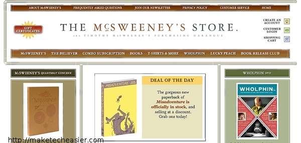 Disfrute de una buena literatura en su iPad con la aplicación McSweeney