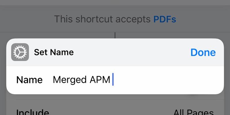 Cómo combinar múltiples archivos PDF en iOS