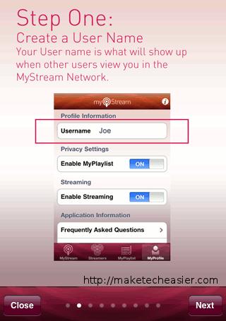 Comparta su música fácilmente con la aplicación MyStream [iPhone]