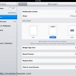 Uso de la función del centro de notificaciones de iOS 5