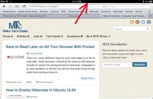 6 pequeños secretos conocidos del iPad