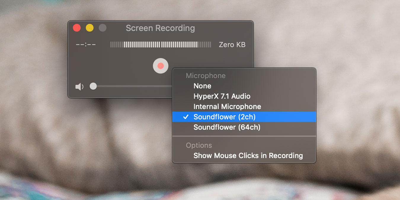 Cómo grabar el audio del sistema mientras graba su pantalla en Quicktime