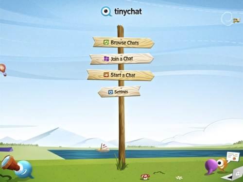 Tinychat For Web te permite charlar, escuchar música y dibujar simultáneamente