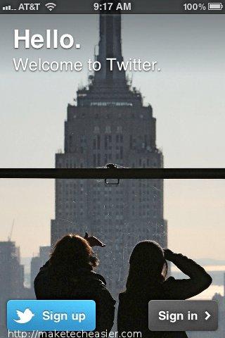 Mantenerse actualizado con los tweets integrados en iOS 5