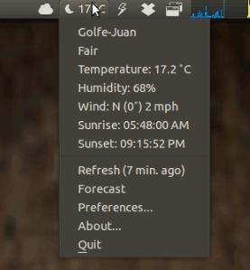 10 deben tener applets indicadores para Ubuntu 12.04