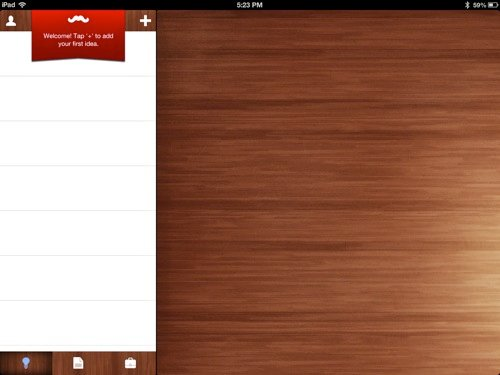 Werdsmith para iOS lleva proyectos de escritura de principio a fin