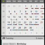 Serie de widgets para Android: Widgets de agenda para mantener su vida al día [Parte 3]