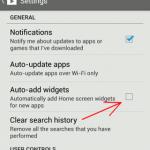 Cómo evitar que Google Play añada automáticamente widgets a la pantalla de inicio de su Android
