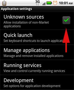 Cómo encontrar e instalar aplicaciones no comerciales en su teléfono Android