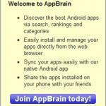 AppBrain: instale fácilmente aplicaciones de Android desde su navegador de escritorio