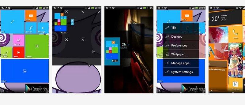 Haga que su Android se vea como un Windows Phone 8