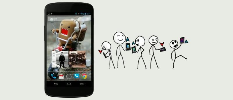Cómo dejar que otros elijan el mejor fondo de pantalla en vivo para usted usando Bitmado [Android]