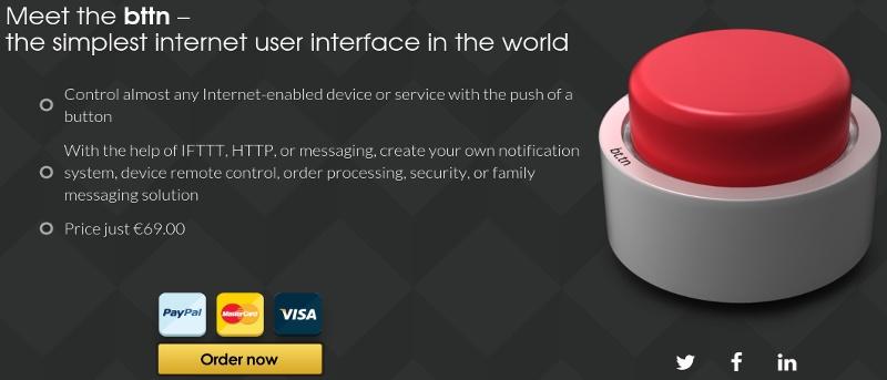 Bttn: Controle los dispositivos y servicios web habilitados para Internet con un solo botón - Revisión y amp; Regalo