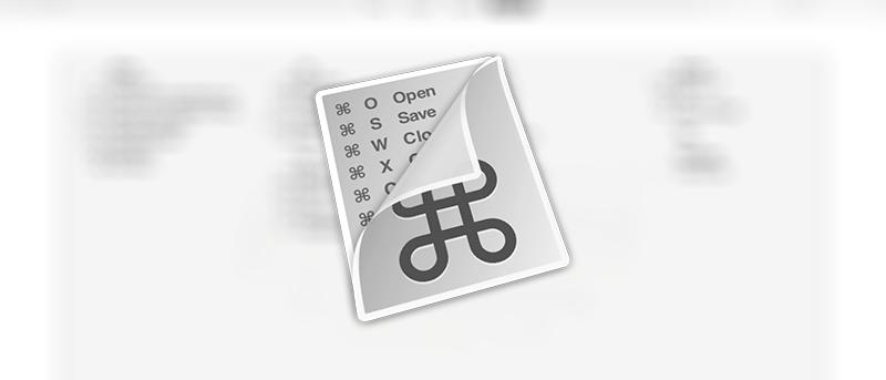 Cómo encontrar rápidamente atajos de teclado para cualquier aplicación en su Mac