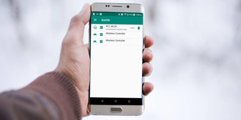 Cómo verificar la duración de la batería para accesorios Bluetooth emparejados en Android