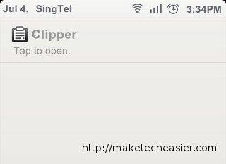Clipper: un potente administrador de portapapeles para Android