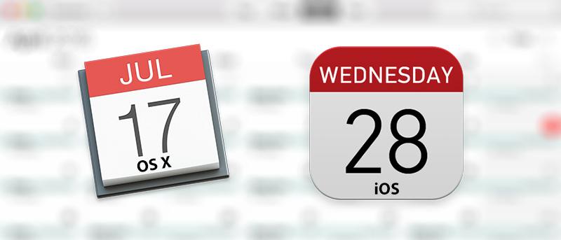 Cómo configurar el calendario predeterminado en OS X e iOS