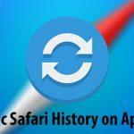 Cómo forzar la sincronización de la historia de Safari en sus dispositivos Apple
