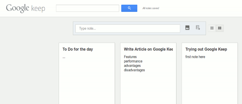 Google Keep: la nueva aplicación de notas Google desarrollada para competir con Evernote
