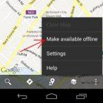 Guarde fácilmente mapas para uso fuera de línea en Android
