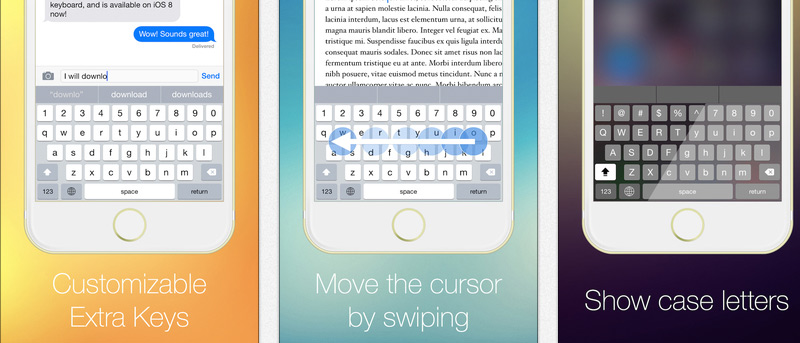 Cómo agregar una fila adicional de claves personalizables a su dispositivo iOS 8