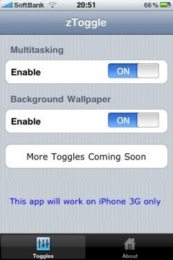 Cómo habilitar la función multitarea en su iPhone 3G