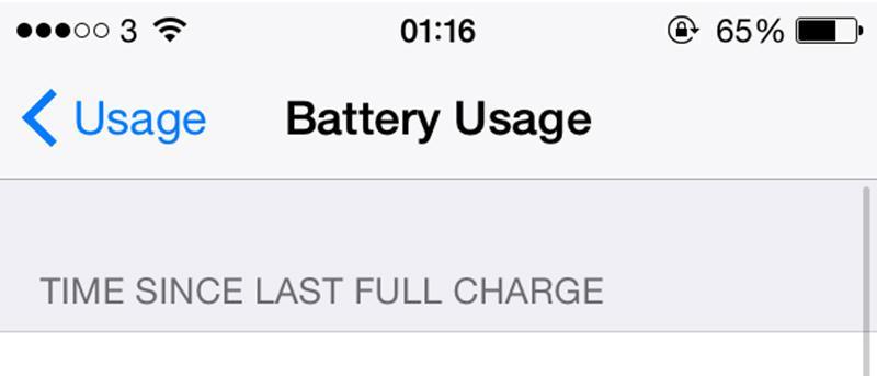 6 formas de solucionar problemas de duración de la batería en su dispositivo iOS 8