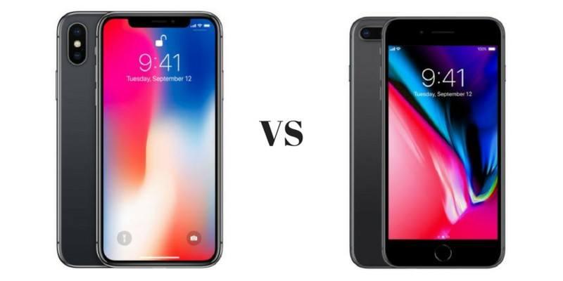 iPhone X vs. iPhone 8: ¿Cuál es la diferencia??