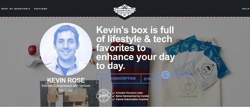 Caja trimestral de Kevin Rose con bombilla inteligente Bluetooth y PowerCube
