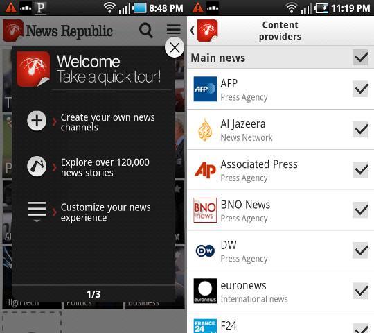 5 impresionantes aplicaciones de noticias para Android que le mantendrán informado
