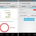 One Touch Expenser: una aplicación simple de Android para rastrear sus gastos